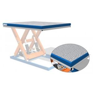 Platforma din aluminiu cu striatii