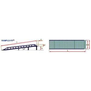 Rampe fixe RAMPLO-FX fara suprafata orizontala